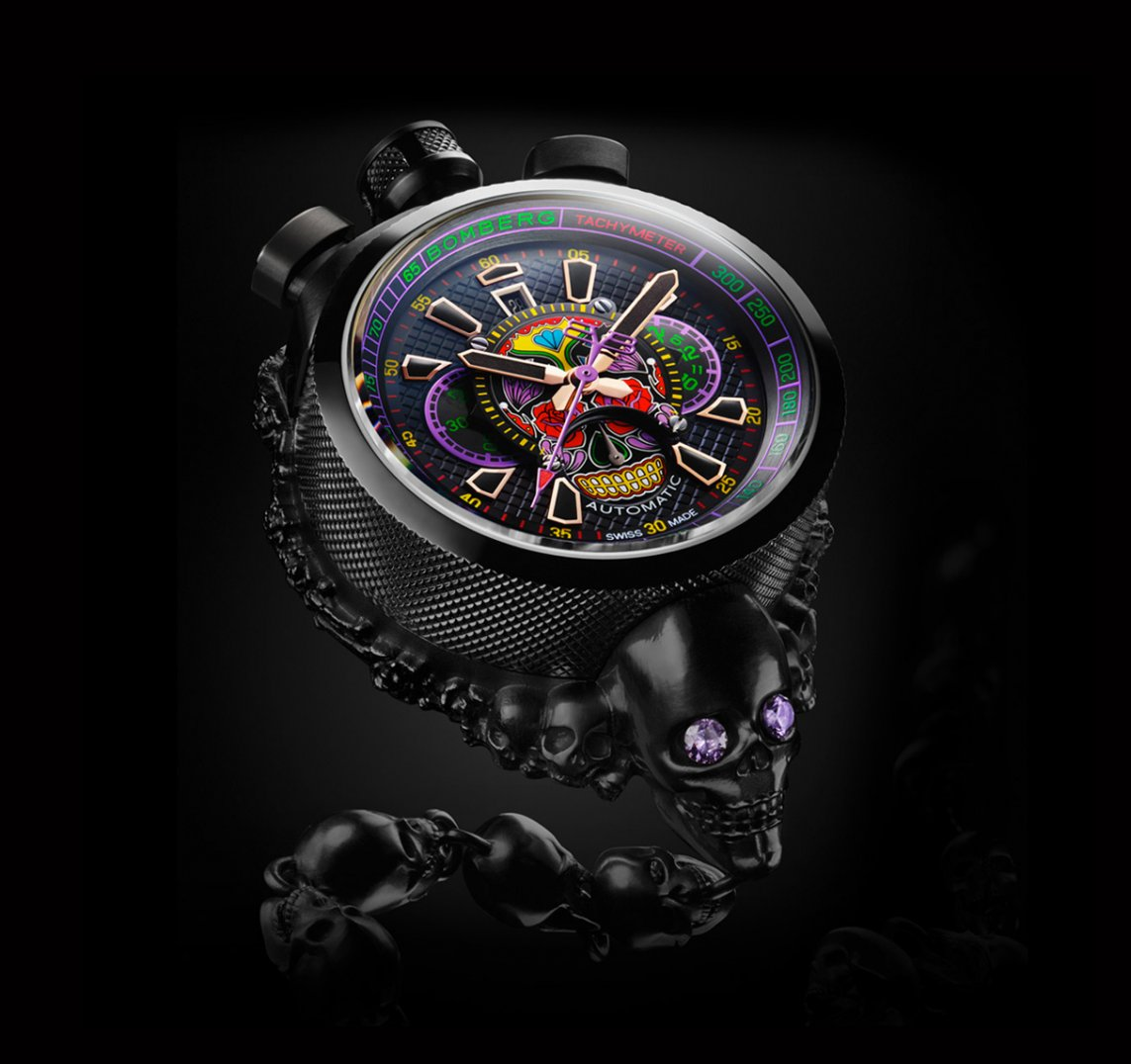 Bolt-68 Pocket Watch : Bolt-68 Skull