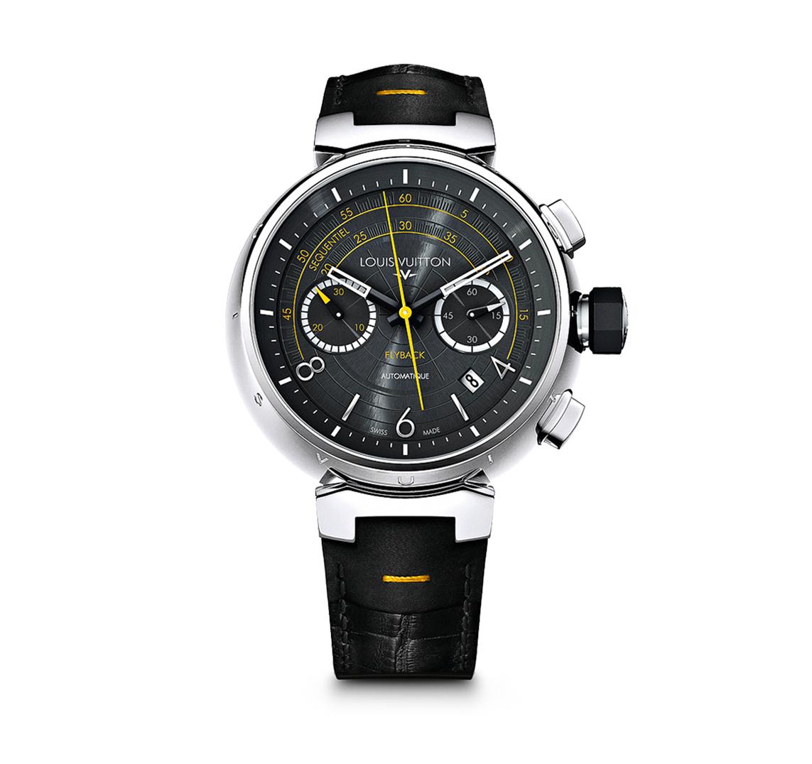 Louis Vuitton : Tambour Volez dial