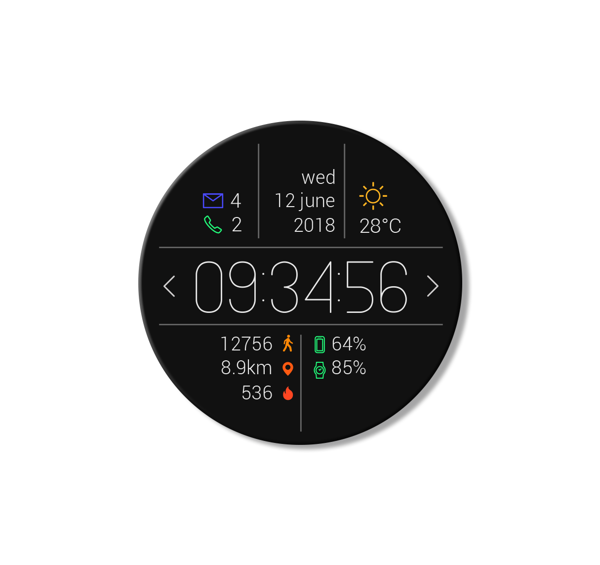 Primary Watch Face : Primary Watch Face